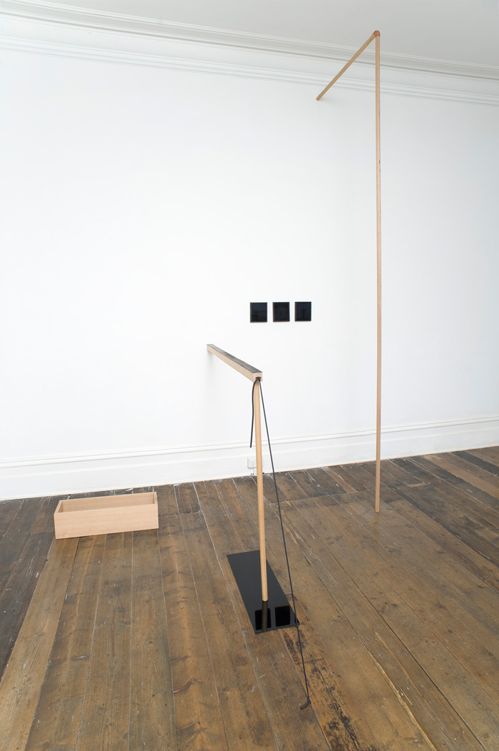 Against the Wall, (constantly variable), in A Condition of Change, curated by Meredith Turnbull, exhibited at Sarah Scout Presents