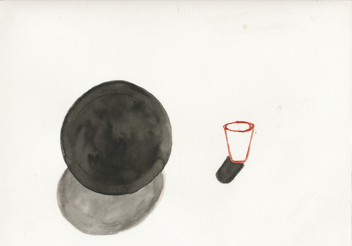Katie Lee, Work on Paper, Stoppers and Balls 2010
