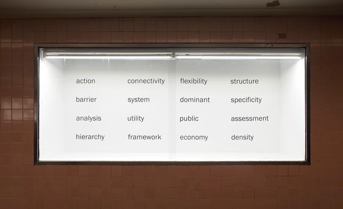 Katie Lee, Building a Scaffold for Democracy, 2011, Platform Public Contemporary Art Spaces