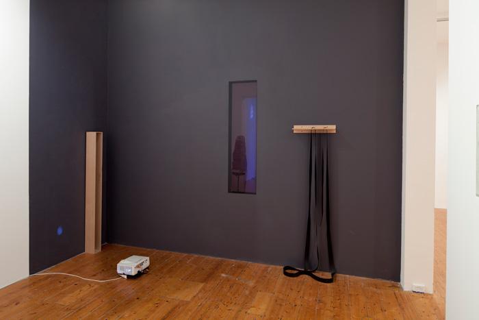 Katie Lee, Divine Terror (found light), Gertrude Contemporary end of year show 2011