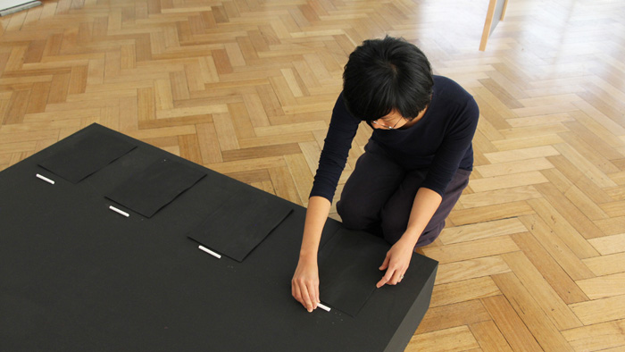 All Who Occupy This Great Space, 2012, performance still, Alice Hui-Sheng Chang and Carolyn Connors